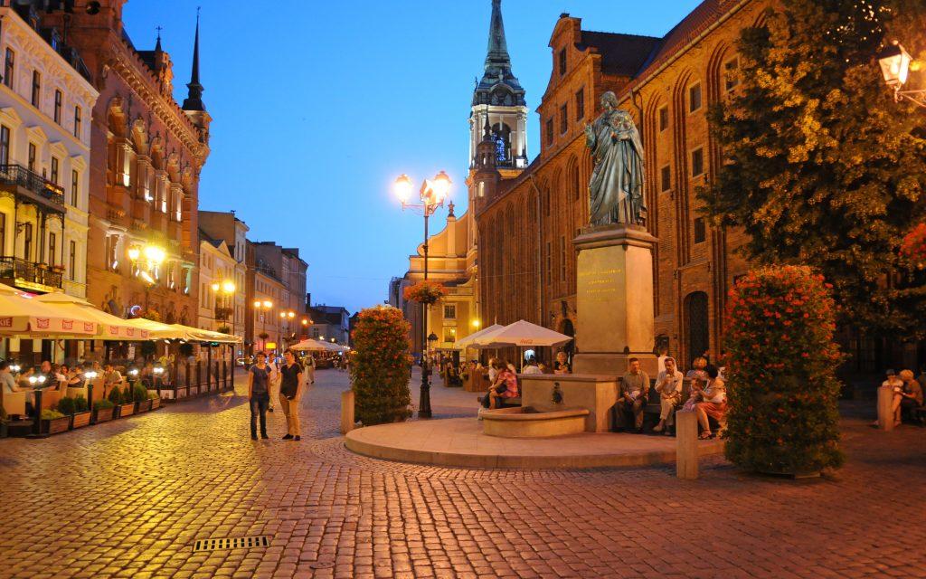 Toruń - Miasto Samochodów Hybrydowych