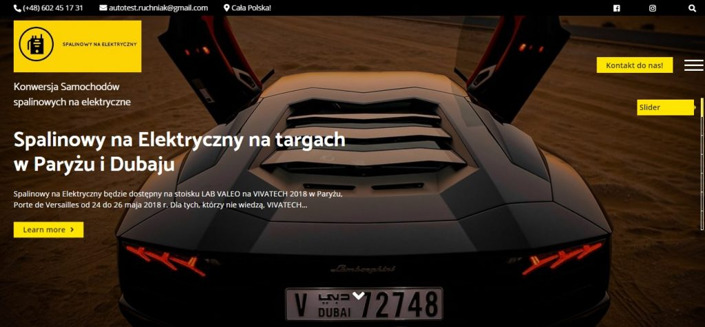 Konwersja samochodu spalinowego na elektryczny cena