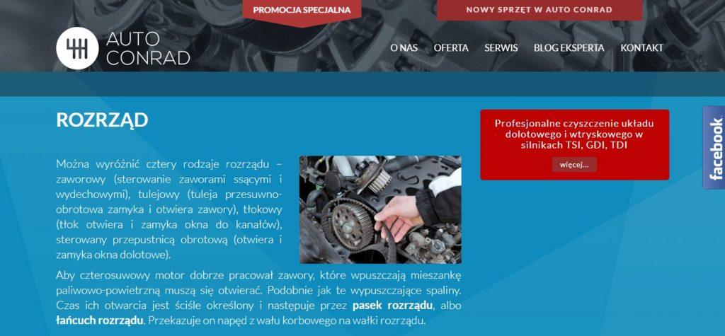 Mechanik Samochodowy – Nadwozia w Warszawa Wymień ROZRZĄD z Auto Conrad