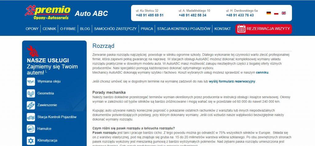 Rozrząd Auto ABC