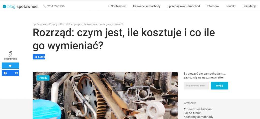 Rozrząd czym jest, ile kosztuje i co ile go wymieniać w Warszawie