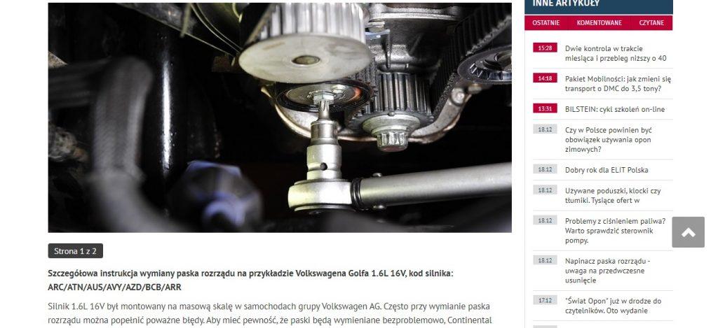 Szczegółowa instrukcja wymiany paska rozrządu na przykładzie Volkswagena Golfa 1.6L 16V